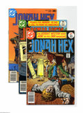 Bronze Age (1970-1979):Western, Jonah Hex Group (DC, 1977-79). This group includes #1 (VF/NM), 3, 9 (Bernie Wrightson cover), 23, and 24. The last four are ... (Total: 5 Comic Books Item)