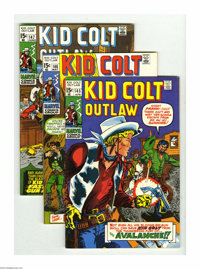 Kid Colt Outlaw Group (Marvel, 1970-73) Condition: Average FN+. This group includes # 145, 146, 147, 148, 149, 151, 152...