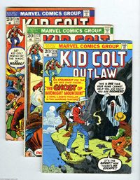 Kid Colt Outlaw Group (Marvel, 1973-76) Condition: Average VG-. This lot consists of issues #176, 177, 178, 180, 182, 18...
