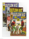 Golden Age (1938-1955):Western, Outlaw Kid Group (Marvel, 1970-74) Condition: Average FN. Group lot of Bronze Age Western title includes #2-9, 11 (Gil Kane ... (Total: 12 Comic Books Item)