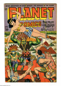 Golden Age (1938-1955):Science Fiction, Planet Comics #31 (Fiction House, 1944) Condition: VF. GrahamIngels, Lee Elias, Lily Renee, and Joe Doolin art. One-inch te...