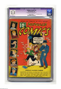 Platinum Age (1897-1937):Miscellaneous, Popular Comics #6 (Dell, 1936) CGC Apparent GD+ 2.5 Slight (A) Cream to off-white pages. First appearance of Scribbly. CGC n...