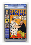 Platinum Age (1897-1937):Miscellaneous, Popular Comics #15 (Dell, 1937) CGC VG 4.0 Light tan to off-whitepages. Features Terry and the Pirates, Smitty, Dick Tracy,...