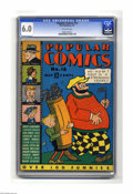 Platinum Age (1897-1937):Miscellaneous, Popular Comics #16 (Dell, 1937) CGC FN 6.0 Off-white pages.Features Dick Tracy, Skippy, Terry and the Pirates, Smitty, Gaso...