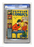 Platinum Age (1897-1937):Miscellaneous, Popular Comics #17 Incomplete (Dell, 1937) CGC PR 0.5 Cream tooff-white pages. Features Dick Tracy, Little Orphan Annie, Te...