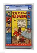 Platinum Age (1897-1937):Miscellaneous, Popular Comics #19 (Dell, 1937) CGC FN- 5.5 Off-white to whitepages. Features Don Winslow, Harold Teen, Skeezix, Dick Tracy...