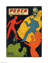 Punch Comics #11 (Chesler, 1944) Condition: VG. Last appearance of Sky Chief. Features Little Nemo, Rocketman. Overstree...