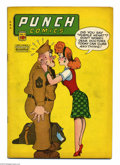 Golden Age (1938-1955):Crime, Punch Comics #17 (Chesler, 1946) Condition: VG. Features Little Nemo in Slumberland, Rocketman, Punch and Cutey. Overstreet ...