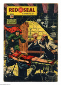 Golden Age (1938-1955):Crime, Red Seal Comics #14 (Chesler, 1945) Condition: VG-. This doesn't appear on the radar too often: issue #14 of Red Seal Comi...