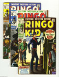 Bronze Age (1970-1979):Western, The Ringo Kid Group (Marvel, 1970-73) Condition: Average VG/FN. This group includes #1 (Al Williamson art), #2 (three copies... (Total: 34 Comic Books Item)