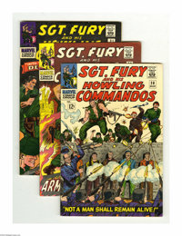 Sgt. Fury and His Howling Commandos Group (Marvel, 1966-68) Condition: Average VF+. This group includes #28, 29, 31, 32...