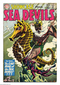 Silver Age (1956-1969):Adventure, Showcase #29 (DC, 1960) Condition: FN. Featuring the Sea Devils. Russ Heath grey tone cover and interior art. Overstreet 200...