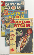 Golden Age (1938-1955):Horror, Strange Suspense Stories and Captain Atom Group (Charlton, 1965-67)Condition: Average FN+. This group includes Strange Su... (Total:14 Comic Books Item)