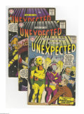 Silver Age (1956-1969):Horror, Tales of the Unexpected Silver Group (DC, 1957-60) Condition:Average GD/VG. A group lot of ten books from the SIlver Age sc...(Total: 10 Comic Books Item)