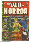 Golden Age (1938-1955):Horror, Vault of Horror #35 (EC, 1954) Condition: VG+. A rare issue of EC'sother great horror title, featuring a great Johnny C...