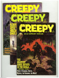 Bronze Age (1970-1979):Horror, Creepy (Magazine) Group (Warren, 1965-68) Condition: Average VF.This group includes #2 (FN+), 3, 4, and 18. The first three...(Total: 4 Comic Books Item)