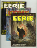 Magazines:Horror, Eerie (Magazine) #2-4 Group (Warren, 1966) Condition: Average VF+. Issues #2, 3, and 4 are included here. The first two have... (Total: 3 Comic Books Item)