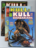 Bronze Age (1970-1979):Miscellaneous, Kull and the Barbarians (magazine) #1, 2, and 3 Group (Marvel,1975) Condition: Average VF. This group consists of eight mag...(Total: 8 Comic Books Item)
