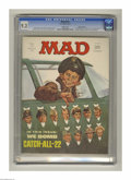 """Bronze Age (1970-1979):Humor, Mad #141 Gaines File Copy (EC, 1971) CGC NM- 9.2 White pages. JackRickard cover. """"Catch-22"""" and """"Hawaii Five-o"""" parodies. M..."""
