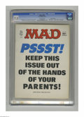 """Magazines:Mad, Mad #195 Gaines File Copy (EC, 1977) CGC VF- 7.5 Off-white pages.""""Airport 1977,"""" """"Black Sunday,"""" and """"Barney Miller"""" parodi..."""