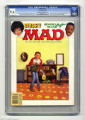 """Magazines:Mad, Mad #256 (EC, 1985) CGC NM+ 9.6 Off-white to white pages. The lastissue of Mad to be edited by Al Feldstein. """"Dynasty"""" ..."""