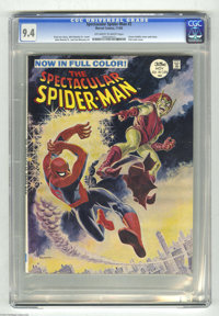 Spectacular Spider-Man #2 (Marvel, 1968) CGC NM 9.4 Off-white to white pages. Green Goblin cover and story. Full color i...