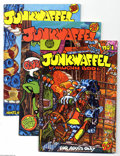 Modern Age (1980-Present):Alternative/Underground, Junkwaffel 1-5 Group (Print Mint/Last Gasp, 1972-88) Condition:Average FN/VF. Issues #1-5 (first printings), plus extra sec...(Total: 8 Comic Books Item)