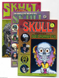 Bronze Age (1970-1979):Alternative/Underground, Skull Comics #1-6 Group (Rip Off Press, 1970-72) Condition: Average FN/VF. This group includes # 1, 2, 3, 4, 5, and 6. Appro... (Total: 6 Comic Books Item)