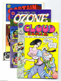 Bronze Age (1970-1979):Alternative/Underground, Underground Comix Group (Various, 0) Condition: FN/VF. Includes Cloud Comix #1; Tales From the Ozone #2; Captain G... (Total: 7 Comic Books Item)