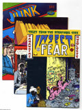 Bronze Age (1970-1979):Alternative/Underground, Underground Comix Group (Various, 1970s) Condition: Average Fine. Incudes Insect Fear #3, The Human Drama #nn, Jun... (Total: 10 Comic Books Item)