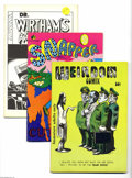 Bronze Age (1970-1979):Alternative/Underground, Underground Comix Group (Various, 1972-87). INcludes Weirdom #14 (FN); Snapper #1 (VG+); Dr. Wirtham's Comix and S... (Total: 8 Comic Books Item)