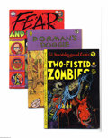 Bronze Age (1970-1979):Alternative/Underground, Underground Comix Group (Various, 1973-79). Includes All New Underground Comix #5 (Two-Fisted Zombies, art by Rick Veitc... (Total: 8 Comic Books Item)