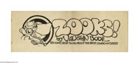 """Zooks! #nn (TK II, 1973). Condition: VG/FN. This incredible long-format collection of strips, subtitled """"Big Comic..."""