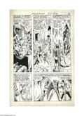 Murphy Anderson - Hawkman #20, page 9 Original Art (DC, 1967). Murphy Anderson details all the slam-bang thrills in this...