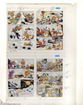 Original Comic Art:Miscellaneous, DuckTales #10 Group of 4 Color Separation Proofs (Disney, 1991).Uncle Scrooge, Huey , Dewey, and Louie, and Launchpad Quack...