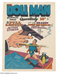 Original Comic Art:Miscellaneous, Gill Fox - Doll Man Quarterly #3 Color Printer's Proof (QualityComics, 1942). Wanna know what Doll Man Quarterly #3 loo...