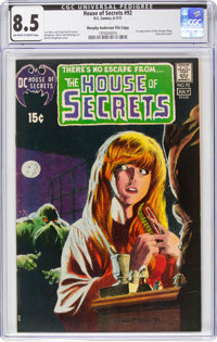 House of Secrets #92 Murphy Anderson File Pedigree (DC, 1971) CGC VF+ 8.5 Off-white to white pages