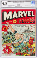 Golden Age (1938-1955):Superhero, Marvel Mystery Comics #20 San Francisco Pedigree (Timely, 1941) CGC NM- 9.2 Off-white to white pages....