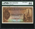 Egypt National Bank of Egypt 10 Pounds 13.11.1919 Pick 14s Specimen PMG Choice Uncirculated 64