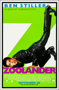 """Zoolander & Other Lot (Paramount, 2001). Rolled, Very Fine. One Sheets (3) (26.25"""" X 40"""" & 27&..."""