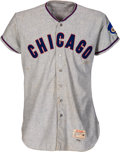 Baseball Collectibles:Uniforms, 1962 Moe Morhardt/Alex Grammas Game Worn Chicago Cubs Jersey....