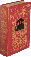 Books:Mystery & Detective Fiction, A[rthur] Conan Doyle. The Hound of the Baskervilles. Another Adventure of Sherlock Holmes. London: George Newnes...