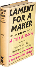 Books:Mystery & Detective Fiction, Michael Innes. Lament for a Maker.