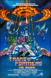 """Transformers: The Movie (DEG, 1986). Rolled, Very Fine+. One Sheet (27"""" X 41"""") SS. Animation"""