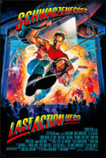 """Movie Posters:Action, Last Action Hero & Other Lot (Columbia, 1993). Rolled, Overall: Very Fine. One Sheets (4) (26.75"""" X 39.75"""" & 27"""" X 40"""") DS, ... (Total: 4 Items)"""