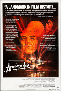 "Apocalypse Now (United Artists, 1979). Folded, Very Fine. One Sheet (27"" X 41"") Review Style. Bob Peak Artwork..."
