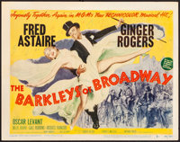 "The Barkleys of Broadway (MGM, 1949). Very Fine-. Title Lobby Card (11"" X 14""). Musical"