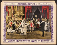 "When Knighthood Was in Flower (Paramount, 1922). Fine/Very Fine. Lobby Card (11"" X 14""). Romance"