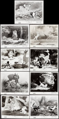 "Movie Posters:Animation, Bambi (Buena Vista, R-1957). Very Fine. Photos (25) (8"" X 10""). Animation.. ... (Total: 25 Items)"