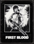 """Movie Posters:Action, First Blood & Other Lot (Orion, 1982). Very Fine-. Presskits (3) (9"""" X 12"""") with Photos (18) (8"""" X 10""""). Drew Struzan Artwor... (Total: 3 Items)"""